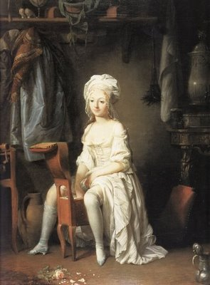 Louis Léopold Boilly, La Toilette intime ou La Rose effeuillée