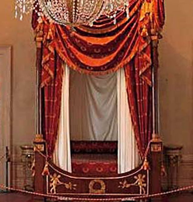 Napoleon's bed