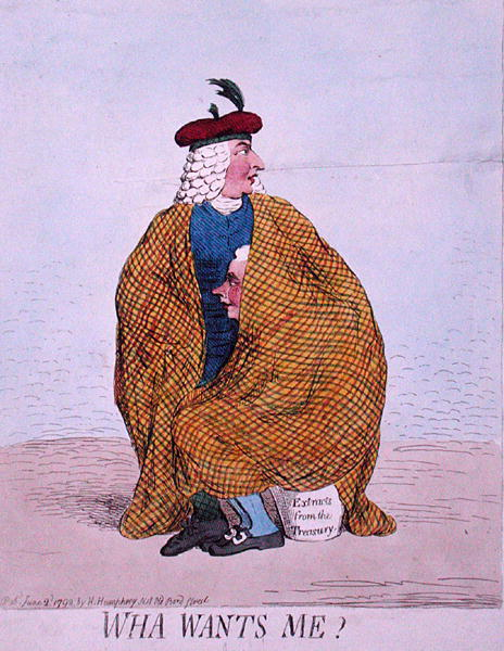 Wha Wants Me - Gillray