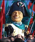Berlusconi Napoleon